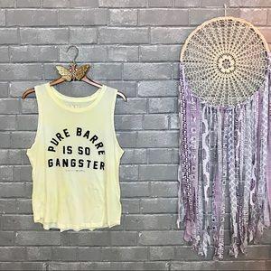 spiritual gangster // pure barre tie dye tank s